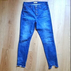 Madewell High Rise Jeans 29